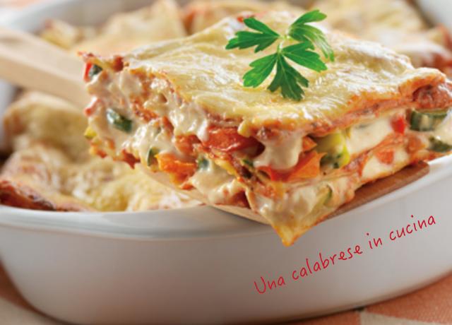 Come fare Lasagne con verdure e scamorza bianca